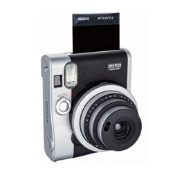 Instant camera with 10 shots of film, built-in flash and hand strap H9.19 x W11.3 x D5.72cm