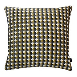 Rio Large square cushion, 56 x 56cm, yellow