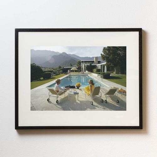 Slim Aarons - Kaufmann Desert House Framed photograph, H56 x W71cm