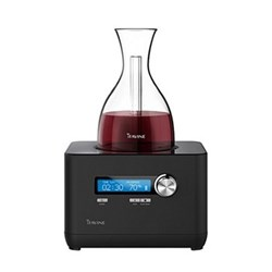 Portable wine decanter including a 750ml patented glass decanter H24 x W18.5 x D15.7cm