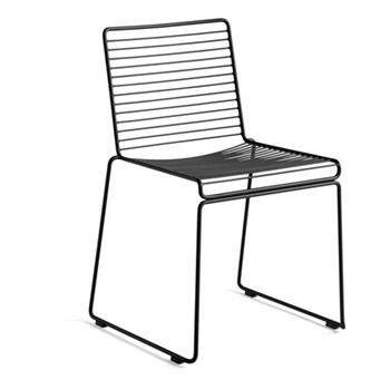 Hee Dining chair, W47.5 x D50 x H79cm, black