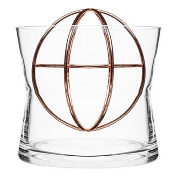 Sphere Large vase, Dia18 x 19cm, copper