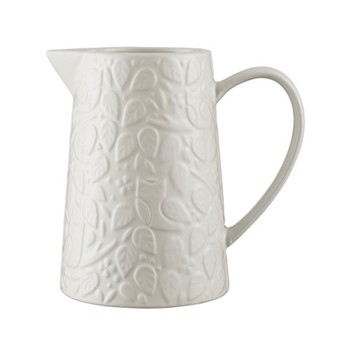 In The Forest Pitcher, 1 Litre, cream