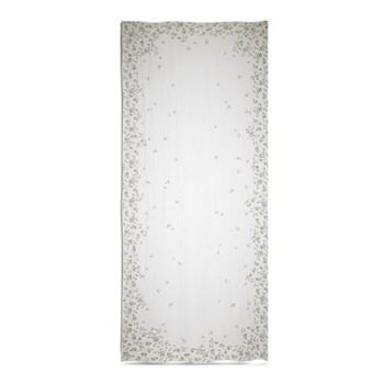 Falling flower linen tablecloth 380 x 160cm