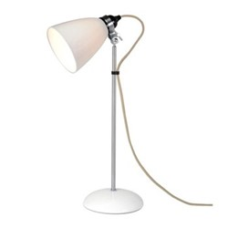 Hector Dome table lamp, H57 xW24cm, natural white