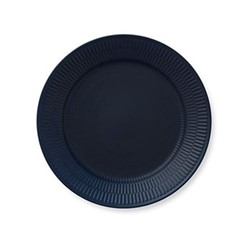 Blue Fluted Plate, 27cm