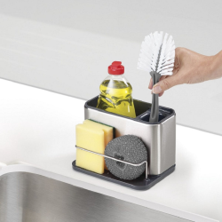 Surface Sink tidy, stainless steel
