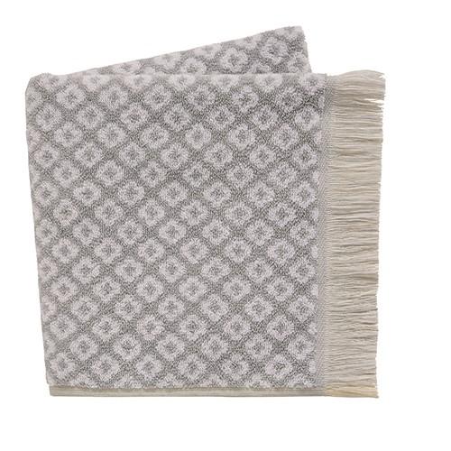 Pippa Bath Towel, L130 x W70cm, Grey
