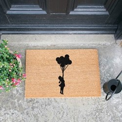 Fly Away Doormat, L60 x W40 x H1.5cm