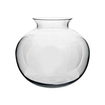 Charlton Round vase, H34 x D39cm, clear