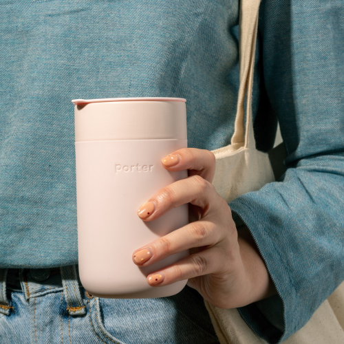 Porter Large mug, 450ml, Blush