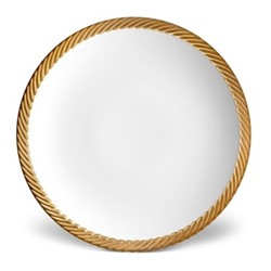 Corde Dinner plate, 27cm, gold