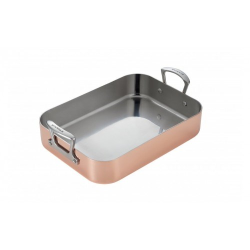 Maitre D' Roaster, D24 x W35cm, Copper And Stainless Steel