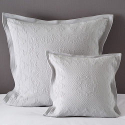 Etienne Large square cushion cover, 65 x 65cm, grey
