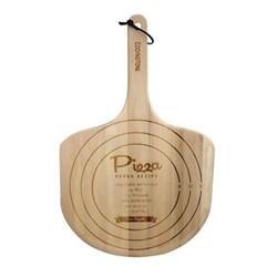 Retro pizza paddle, 55 x 34.5cm, beech wood