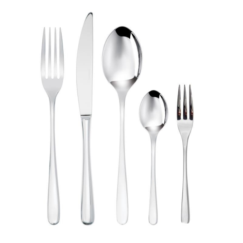 Taste 60 piece cutlery set, Stainless Steel