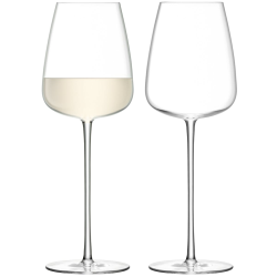Wine Culture Pair of white wine glasses, 490ml, clear