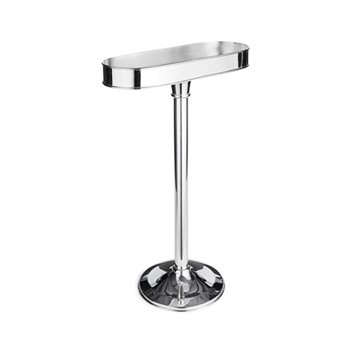 Audley Large wine cooler stand, silver plated