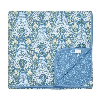Alyssum Throw, L265 x W260cm, blue
