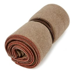 Toscani Travel throw, 180 x 120cm, taupe/brown