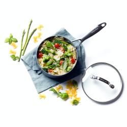 Venice Pro Saucepan with lid, 20cm - 3.1 litre, Ceramic Non-Stick