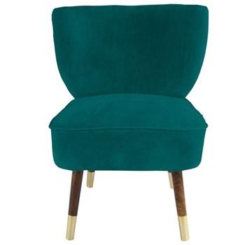 Velvet chair H80 x W65 x D65cm