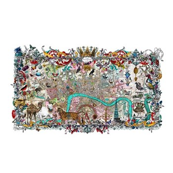 Example Artwork Royal Menagerie - Cary's London by Kristjana S Williams, large