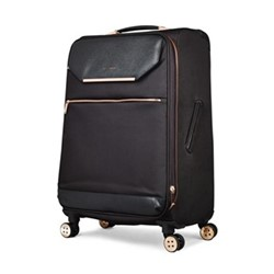 Albany Medium 4 wheel spinner suitcase, L68 x W44 x D31cm, black