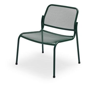 Mira Lounge chair, W63 x D64 x H73cm, hunter green