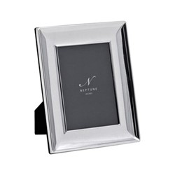 "Porter Photo frame, 5 x 7"", silver plated"