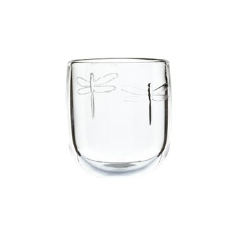 Dragonfly Set of 6 tumblers, 28cl, clear