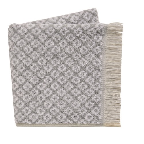 Pippa Hand Towel, L90 x W50cm, Grey