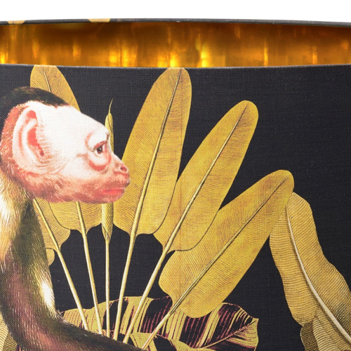 Monkey Pendant Lamp, H30 x Dia55cm