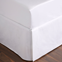 Millennia 1200TC King size fitted sheet, 152 x 203cm, Snow