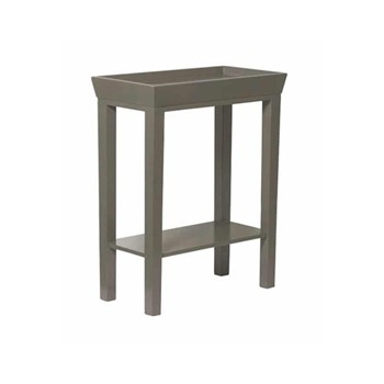 Holly Side table, W47 x D25 x H58cm, purbec stone