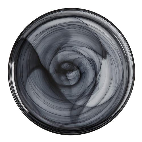 Marblesque Marblesque Plate, Black