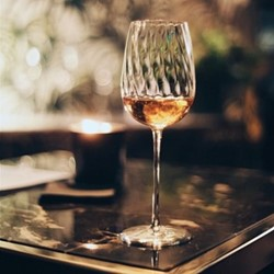 Twist Champagne glass, clear crystal