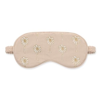 Palmier Eye mask, H10 x L21cm, taupe