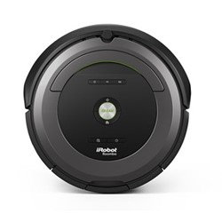 Roomba 681 Smart robotic vacuum cleaner, D33.5 x H9.3cm - 0.6 Litre, black/grey