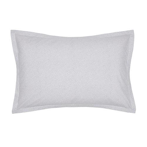 Silva Pair of Standard Pillowcases, L50 x W75cm, Cloud Grey
