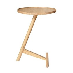 Calvo by Lee Kirkbride Side table, W42 x D42 x H58cm, oak