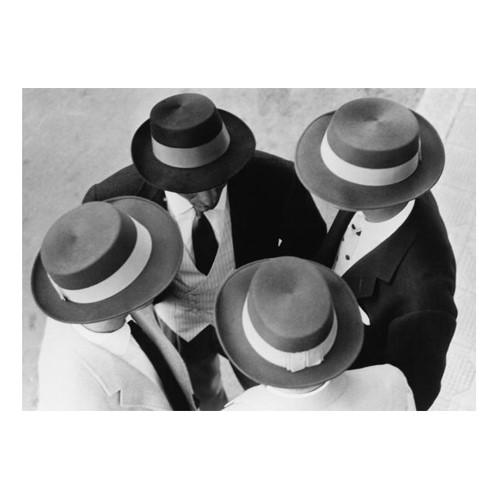 Italian Hats Framed photograph, H59 x W71cm