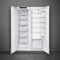 UKS7323LFEP1 Integrated tall fridge, white