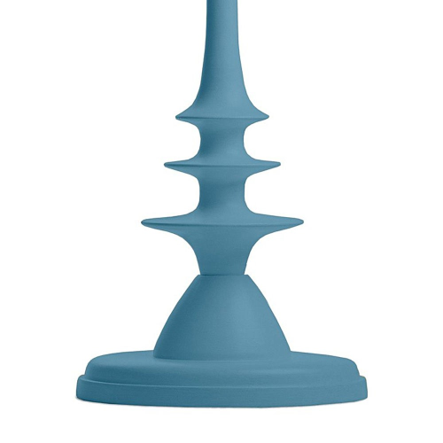 Little Greene - Moonshine Floor lamp, H135 x W30cm, Blue