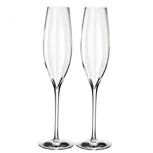 Elegance optic Pair of champagne flute