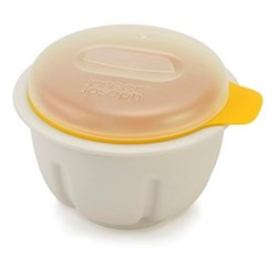 M-Cuisine Microwave egg poacher, white & yellow