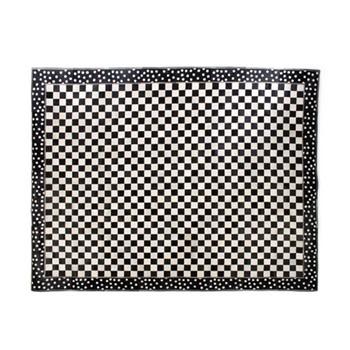 Mod Rocker Rug, W243.84 x L304.8cm, black & white