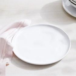 Portobello Side plate, H2 x W20.9 x L21cm, white