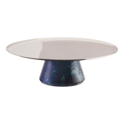 Madame Cake stand, Dia16 x H5cm, Stainless Steel