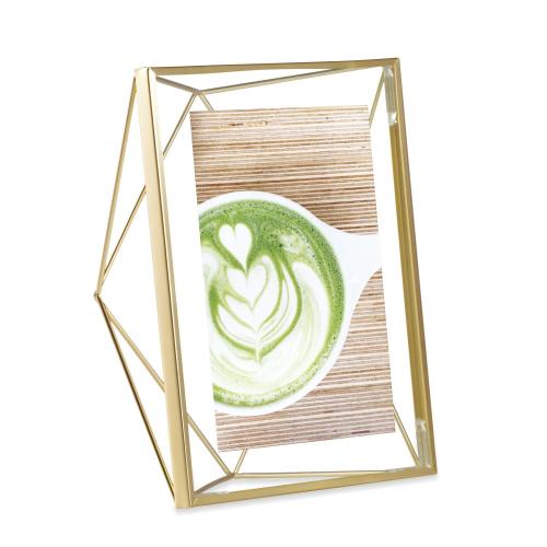 Prisma Photo frame, 5 x 7'', Matte Brass